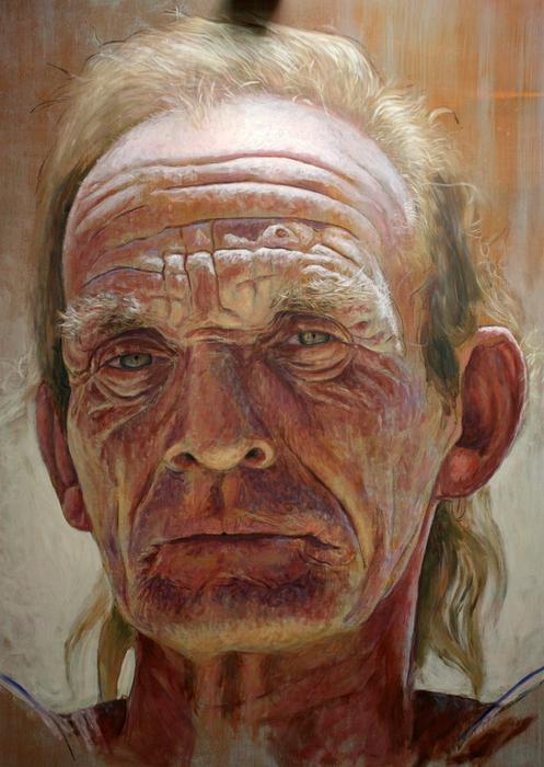 фотореалистичные портреты художника Рубена Беллосо Адорна 6 (497x700, 399Kb)
