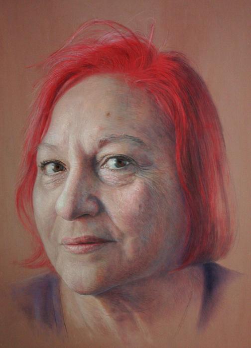 фотореалистичные портреты художника Рубена Беллосо Адорна 10 (504x700, 372Kb)