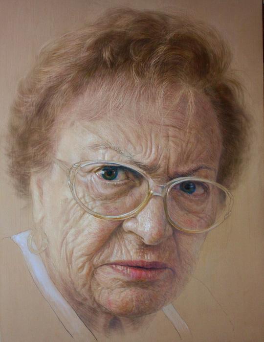 фотореалистичные портреты художника Рубена Беллосо Адорна 12 (540x700, 436Kb)