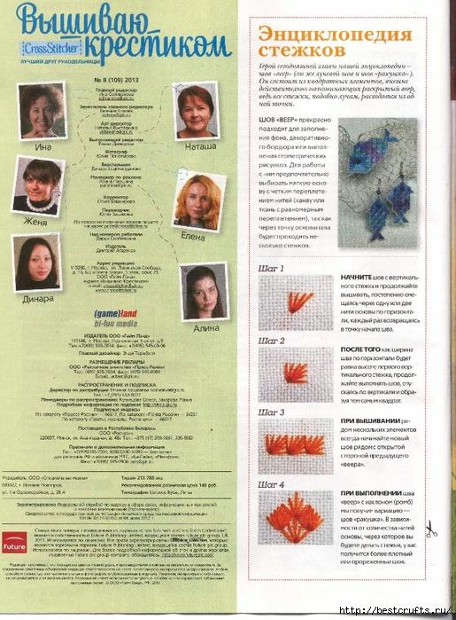 Вышиваю крестиком. Журнал со схемами (4) (515x700, 358Kb)