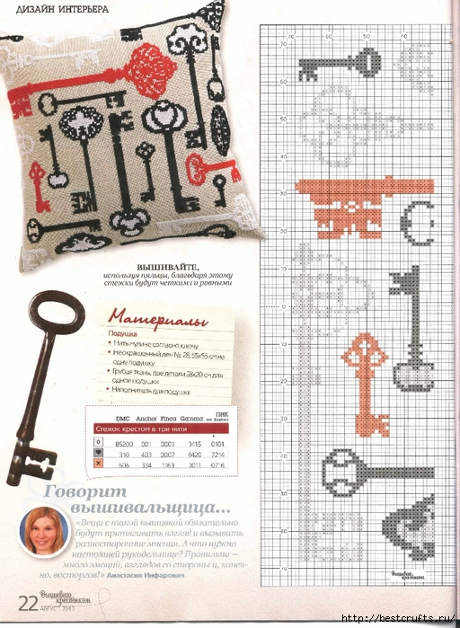 Вышиваю крестиком. Журнал со схемами (12) (512x700, 323Kb)