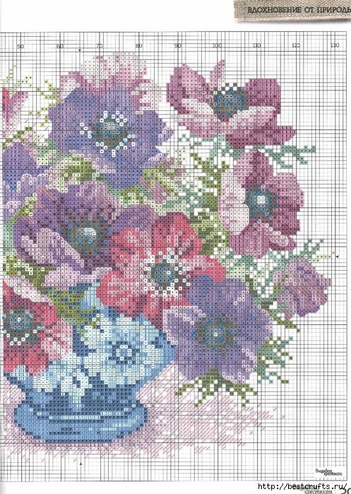 Вышиваю крестиком. Журнал со схемами (25) (497x700, 392Kb)