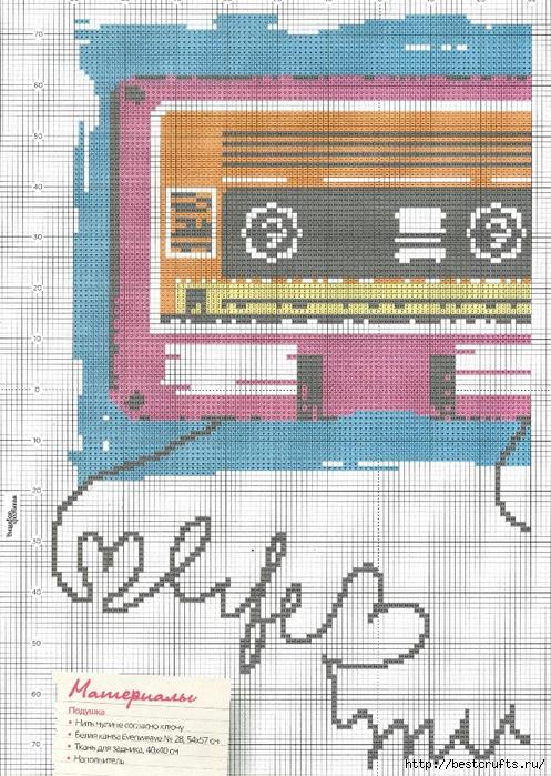 Вышиваю крестиком. Журнал со схемами (34) (497x700, 356Kb)