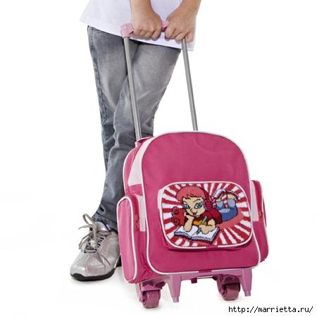 Ковровая вышивка в украшении детского школьного рюкзачка (4) (450x450, 87Kb)