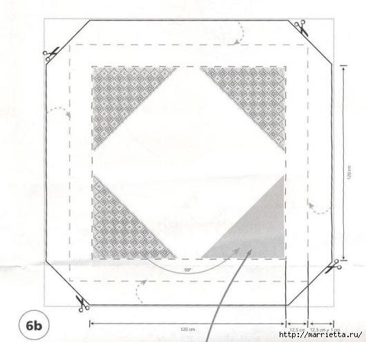 модное вязание крючком для дома. схемы (15) (530x495, 100Kb)