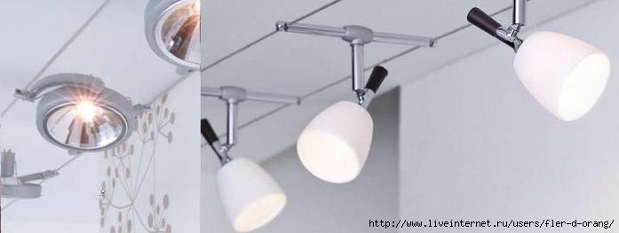 Светильники в стиле хайтек