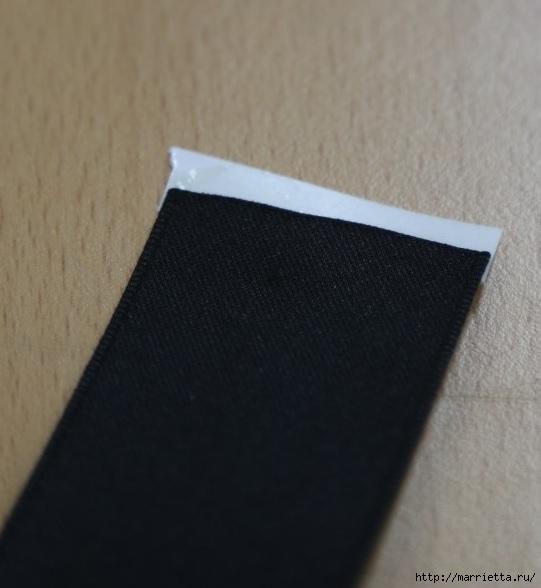 Украшаем бантиками из ленточек заколки для волос. Мастер-классы (2) (541x588, 115Kb)