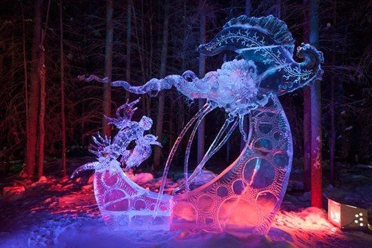 Ice Alaska. Удивительные скульптуры, вырезанные из цельного куска льда