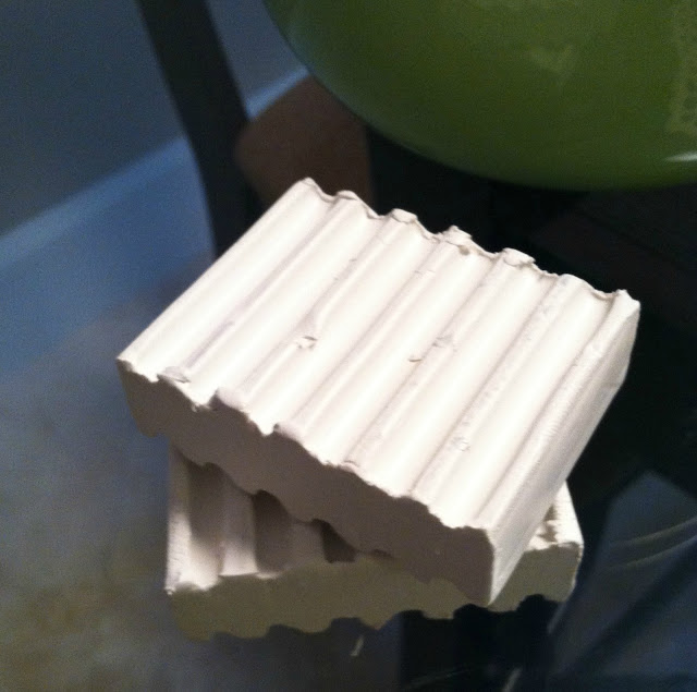 Чаша с кружевным оттиском из полимерной глины своими руками