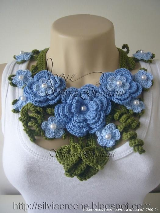 Silvia Gramani Colar miss flor azul I (525x700, 277Kb)