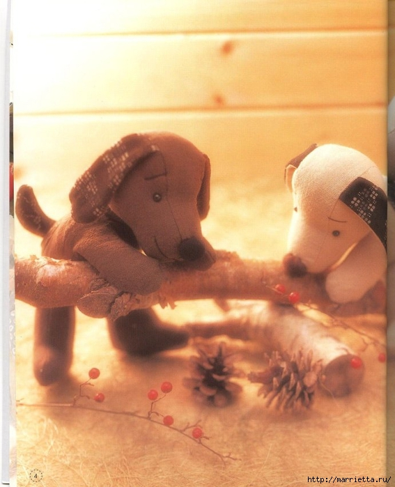 шьем игрушки. Замечательный журнал с выкройками игрушек (9) (567x700, 239Kb)
