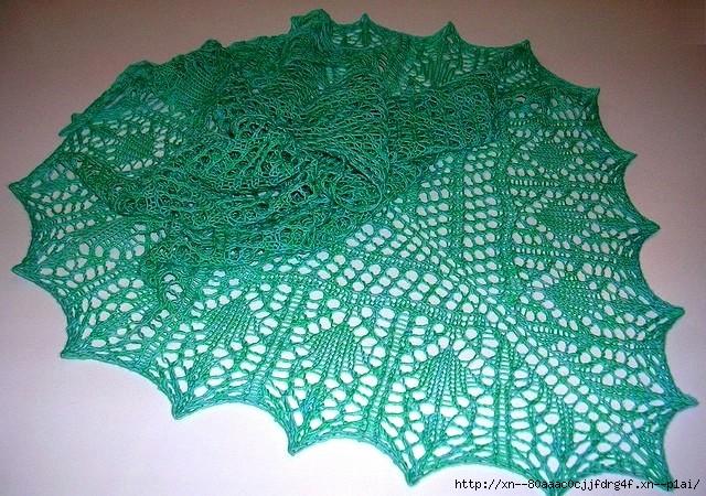 Пополняем коллекцию шалей