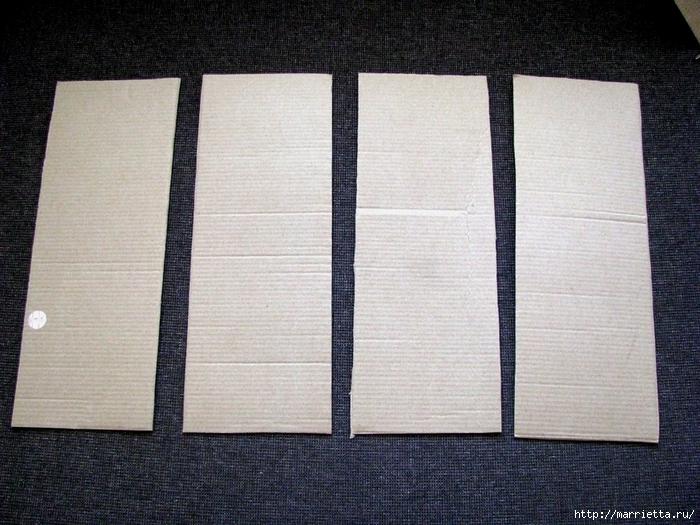 Кашпо для комнатных цветов из картонной коробки и упаковочной бумаги (3) (700x525, 334Kb)