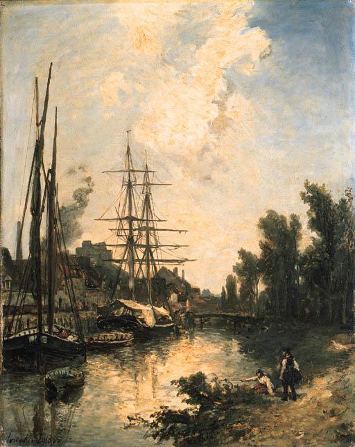 Bateaux au quai (512x643, 307Kb)