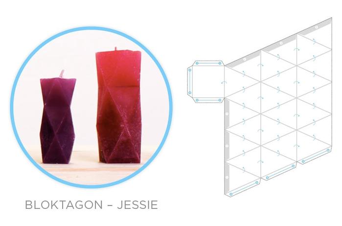 Свечи и гипсовые вазочки геометрической формы. Шаблоны и мастер-класс (4) (700x462, 101Kb)