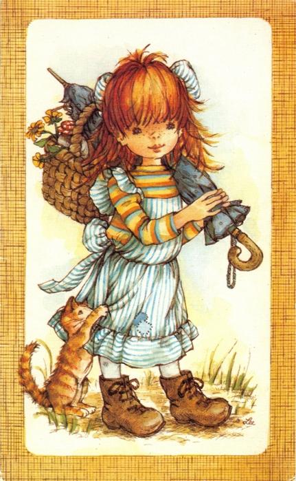 детские открытки:
