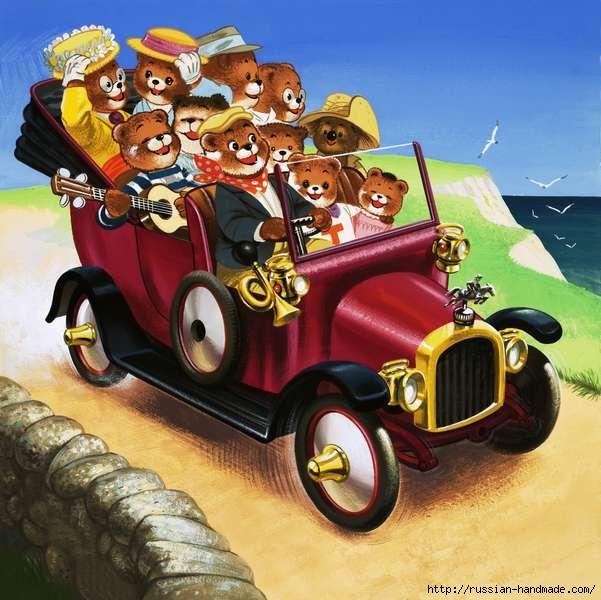 Веселые иллюстрации с мишками от Уильяма Фрэнсиса Phillipps (12) (601x600, 197Kb)