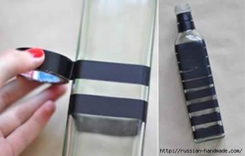 Оригинальная вазочка из стеклянной бутылки (2) (500x319, 49Kb)