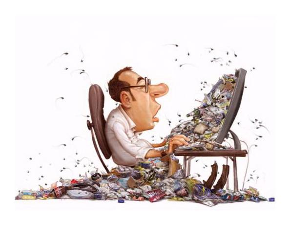Какой вред от работы за компьютером