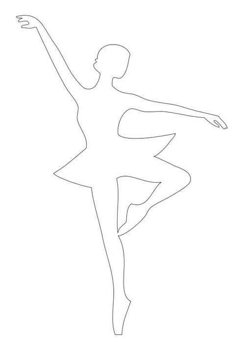 Новогодние снежинки балеринки своими руками из бумаги