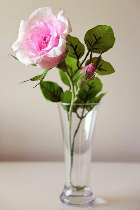 Цветы розы своими руками фото
