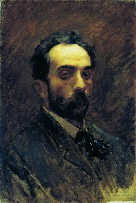 Автопортрет. 1890-е (468x700, 55Kb)