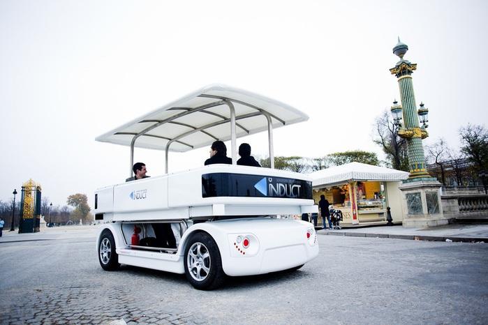 Induct машина без водителя сингапур 1 (700x466, 98Kb)