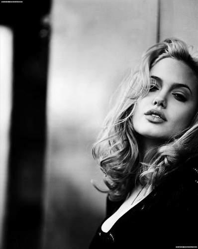 Черно белые фотографии блондинок фото 273-365