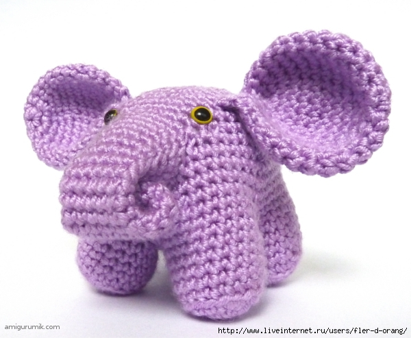 Амигуруми-Слон (600x493, 176Kb)
