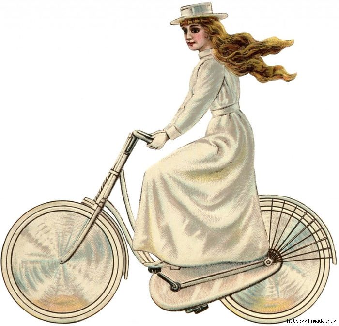 Vintage-Bicycle-Girl-White-GraphicsFairy-1024x984 (700x672, 266Kb)