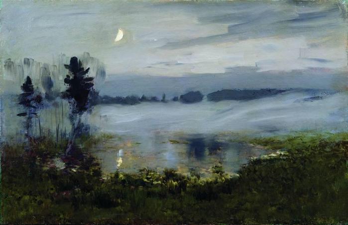 Туман над водой. 1890-е (700x451, 40Kb)