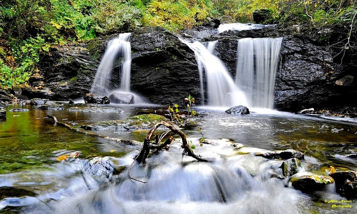 Teisendammen, waterfall, Bymarka, Trondheim (700x420, 304Kb)