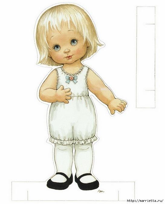 Бумажные вырезалки - одевалки для девочек (1) (546x673, 123Kb)