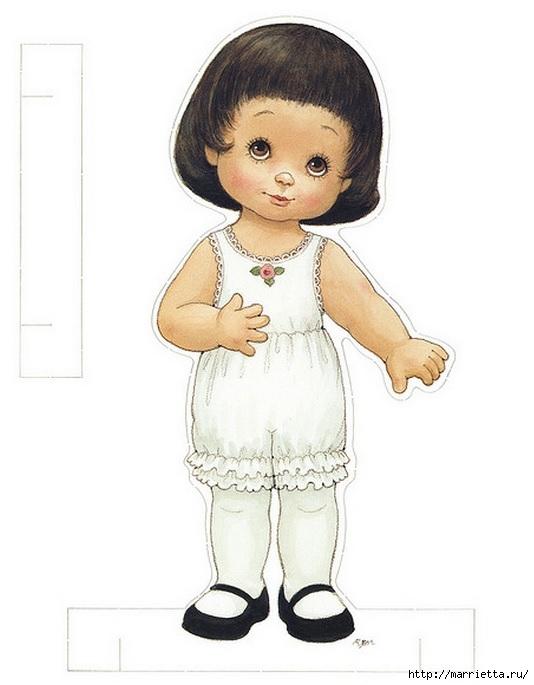 Бумажные вырезалки - одевалки для девочек (2) (534x685, 122Kb)