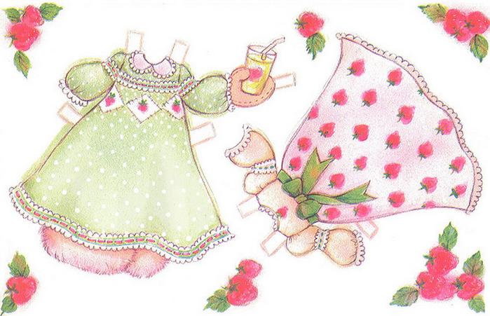 Бумажные вырезалки - одевалки для девочек (4) (700x451, 463Kb)