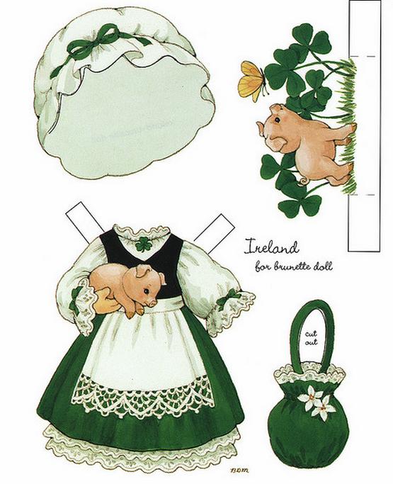 Бумажные вырезалки - одевалки для девочек (6) (555x683, 570Kb)
