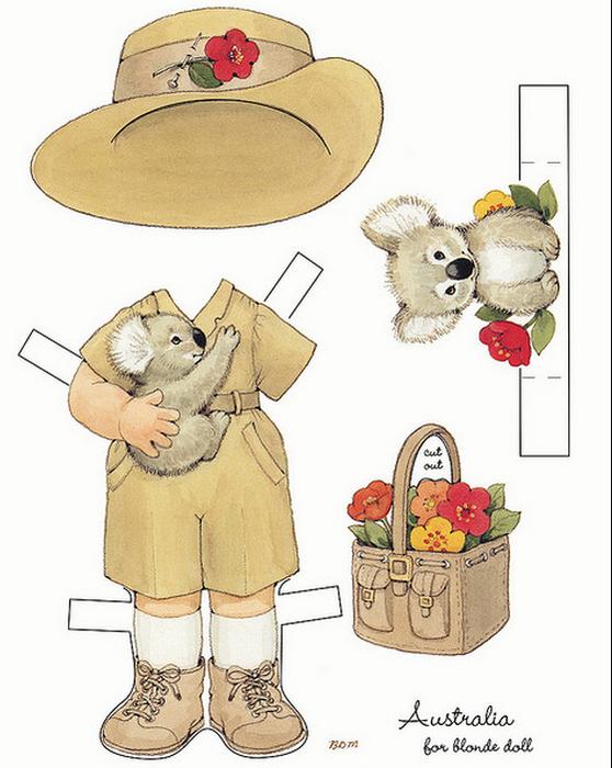 Бумажные вырезалки - одевалки для девочек (8) (558x700, 452Kb)
