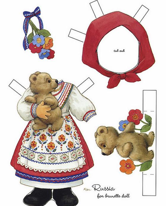 Бумажные вырезалки - одевалки для девочек (14) (559x694, 569Kb)