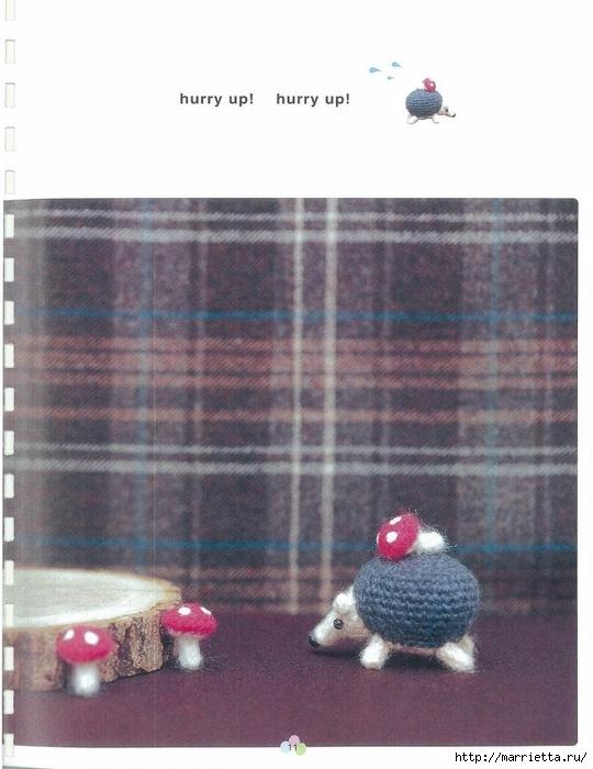 Игрушки АМИГУРАМИ крючком. Японский журнал со схемами (12) (540x700, 230Kb)