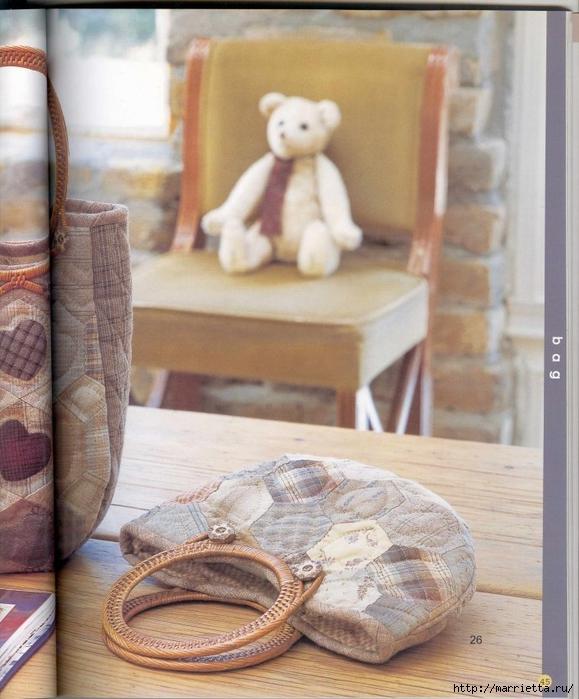 Лоскутное шитье. Японский пэчворк. Журнал (12) (579x700, 283Kb)