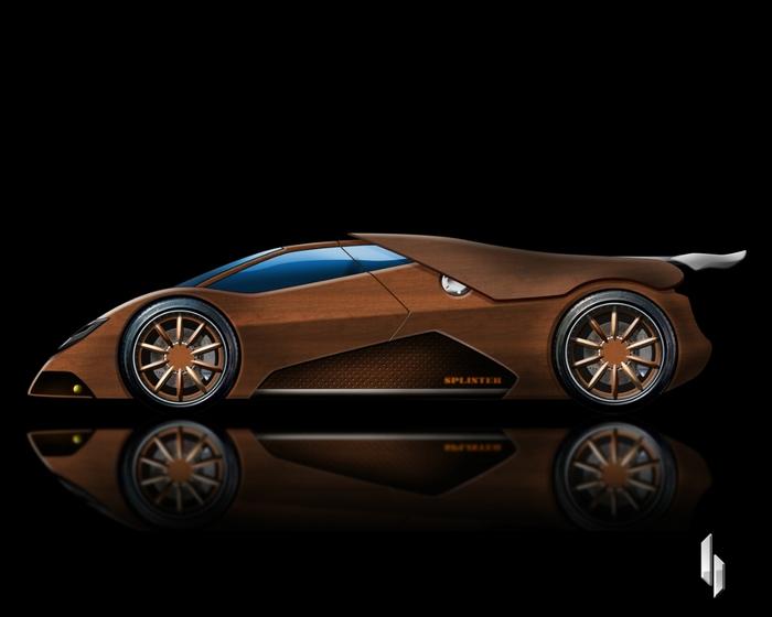 деревянный автомобиль Splinter фото (700x560, 100Kb)