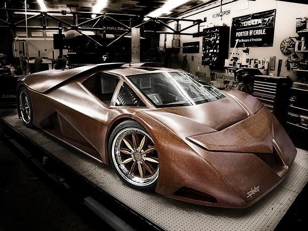 деревянный автомобиль Splinter фото 2 (630x473, 253Kb)