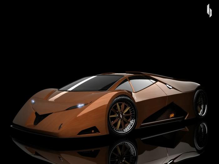 деревянный автомобиль Splinter фото 1 (700x525, 100Kb)
