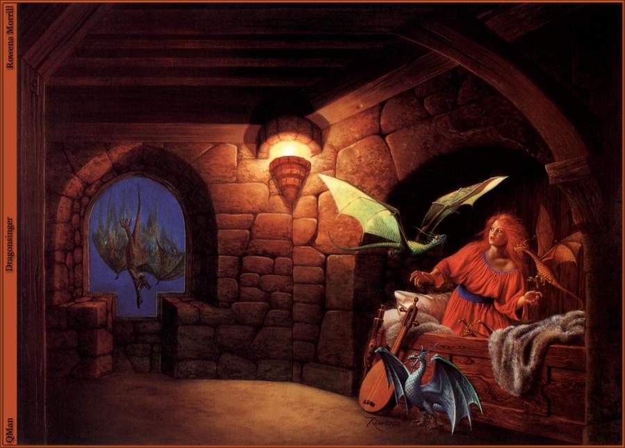 Картины Ровена Моррил (Rowena A. Morrill)