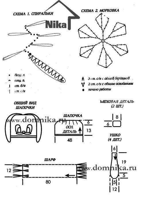 detskaja-shapochka-i-sharf-spicami (495x700, 47Kb)