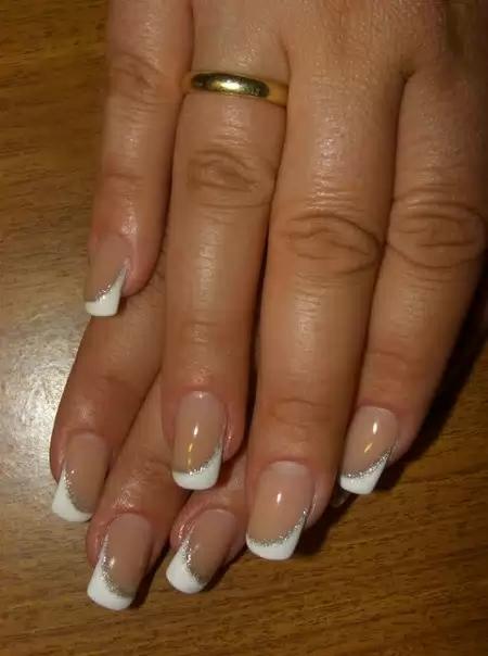 Ногтей фото френч 2013 ногти нарощенные