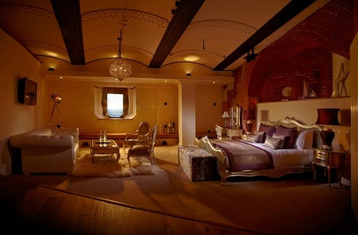 необычный отель Spitbank Fort фото 8 (700x459, 210Kb)