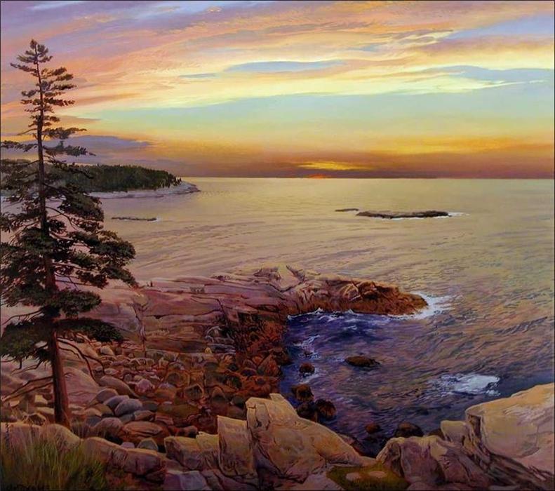 Реалистичные пейзажи художника Артура Чартова.