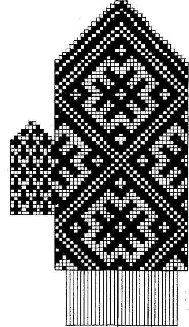 Часть 1 - Варежки- 35 схем от
