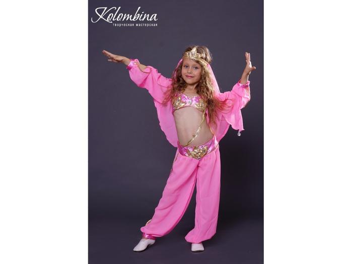 Новогодние костюм восточной красавицы своими руками